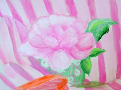 Peonies and Pink - SOLD